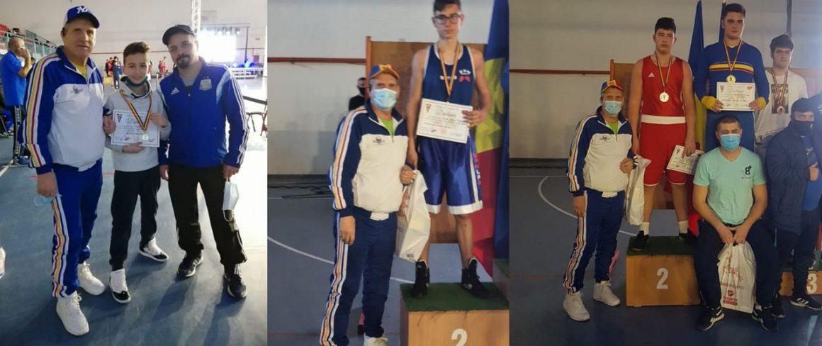 Boxerii de la CSM Ploieşti, patru medalii obţinute la Campionatul Naţional de Cadeţi!