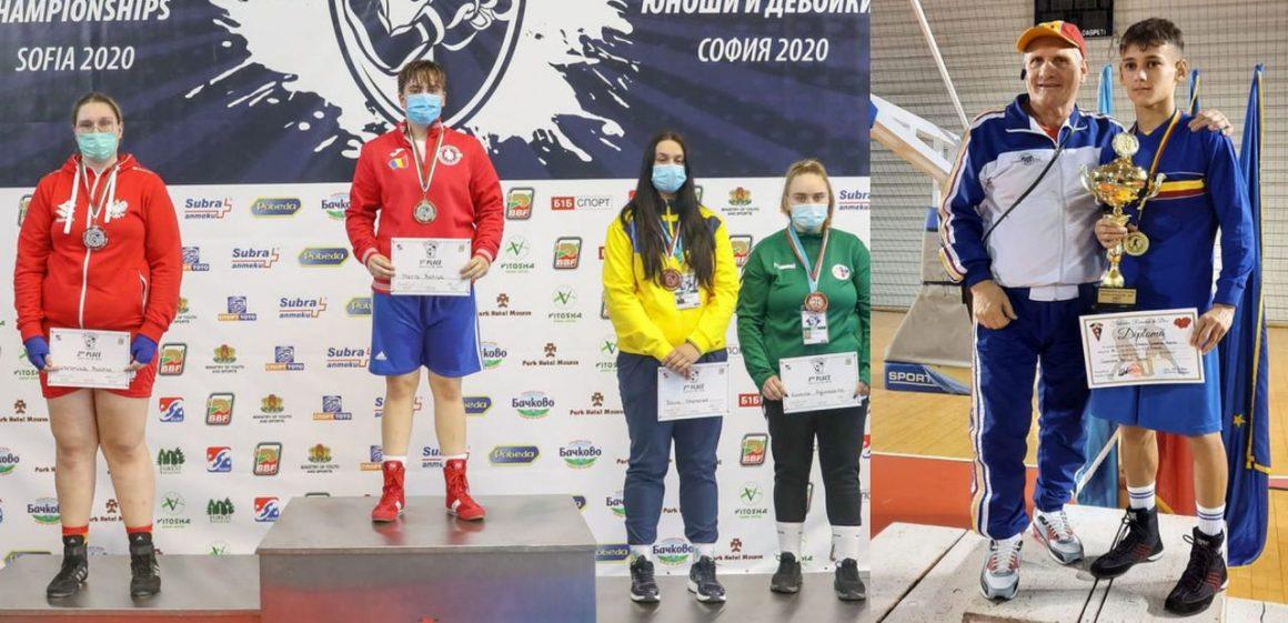 Boxerii Livia Botică şi Marian Ghinoiu, premiaţi de DJST Prahova!
