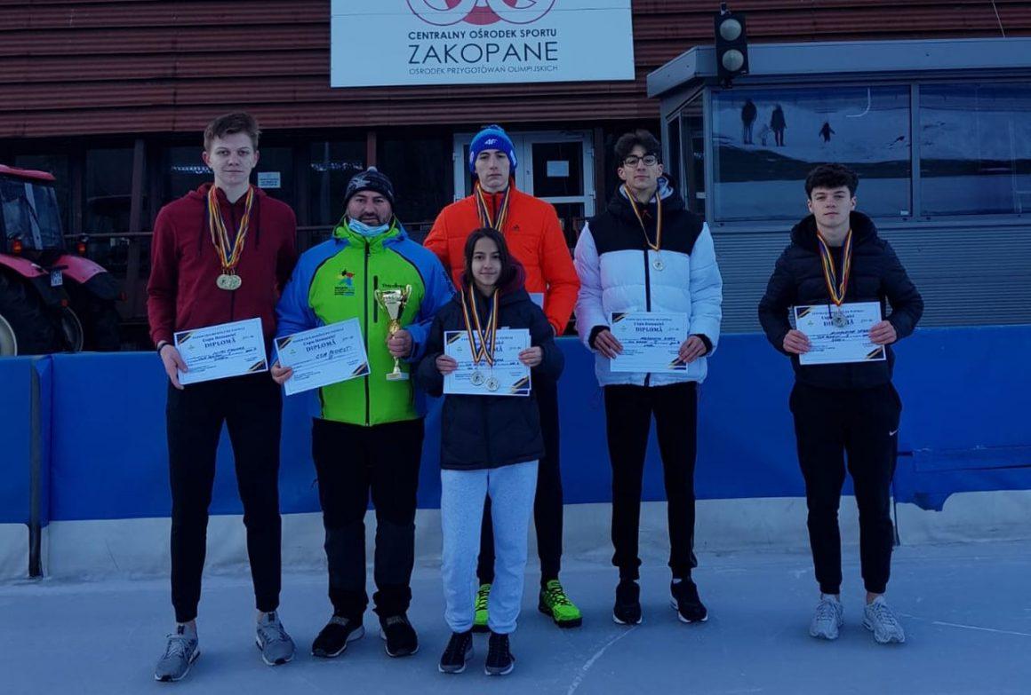 Patinatorii de la CSM Ploieşti s-au întors cu 23 de medalii de la Zakopane!