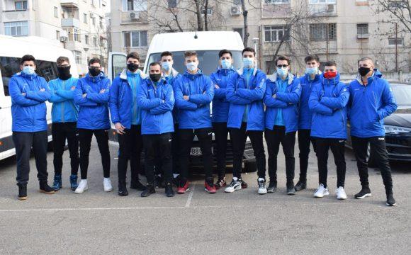 Echipa de handbal băieţi participă la al doilea turneu al Diviziei A!