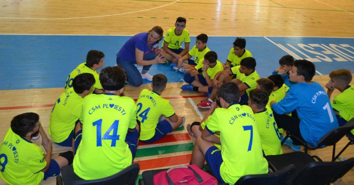 Echipa de handbal juniori 2 debutează în noul sezon la Moreni!