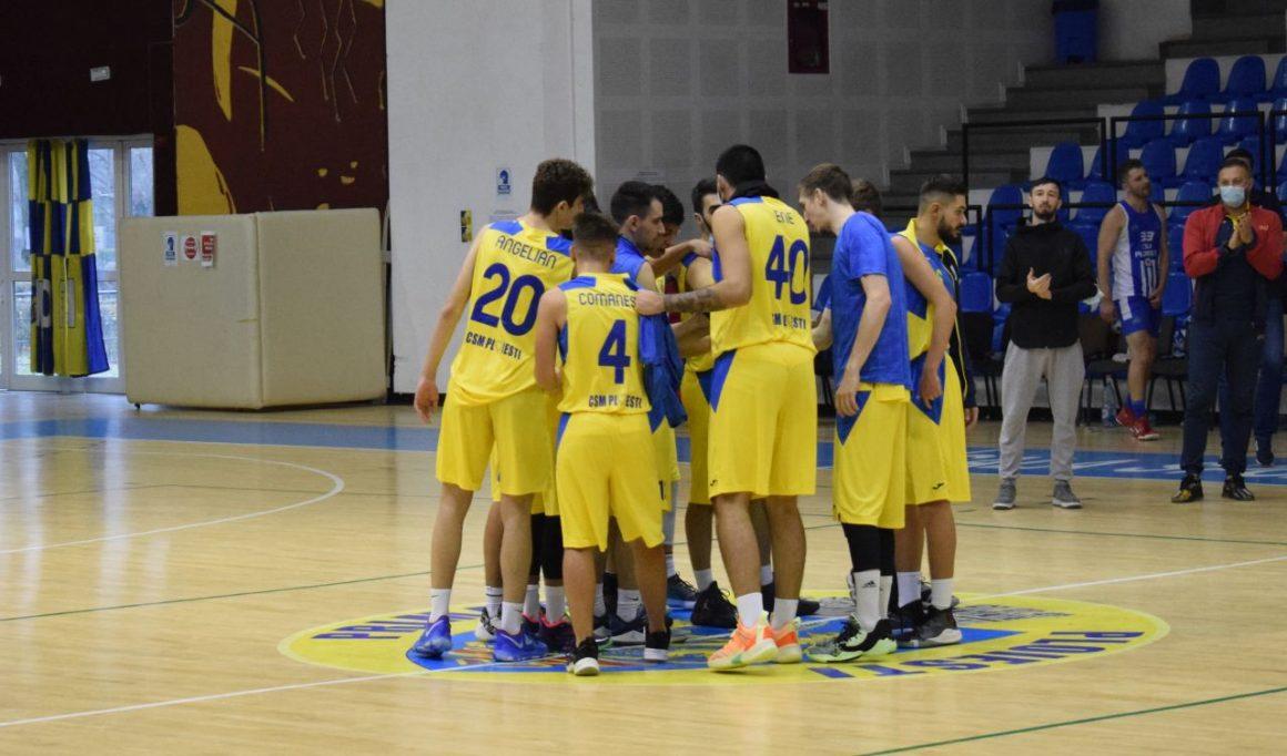 """Echipa de baschet masculin joacă, mâine, în Sala """"Olimpia"""", cu CSU 2 Sibiu!"""