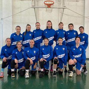 """Echipa de baschet fete """"U16"""", 4 înfrângeri suferite în turneul de la Sfântu Gheorghe"""