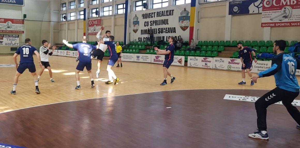 Handbal, Divizia A: băieţii au pierdut, astăzi, şi cu CSU Galaţi, scor 32-38 (14-18)