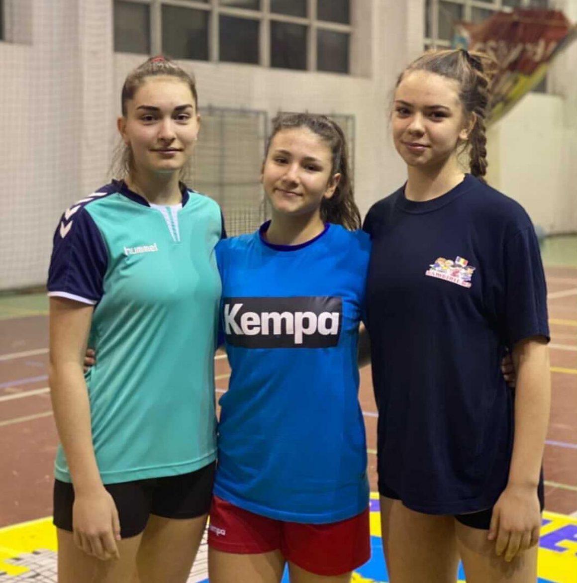Trei handbaliste de la CSM Ploieşti, convocate la lotul naţional de cadete!