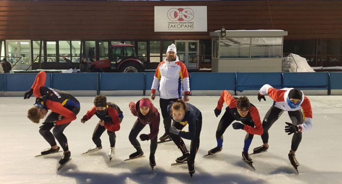 Patinatorii pregătesc la Zakopane participarea la Campionatul Naţional din 19-23 februarie!