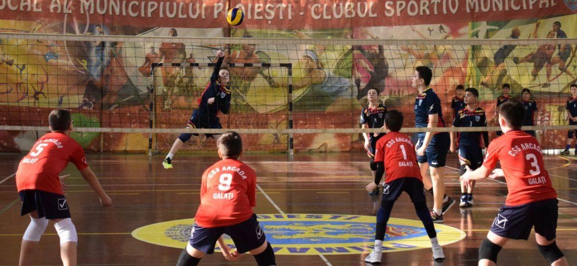 CSM Ploieşti organizează selecţie pentru grupa de minivolei băieţi