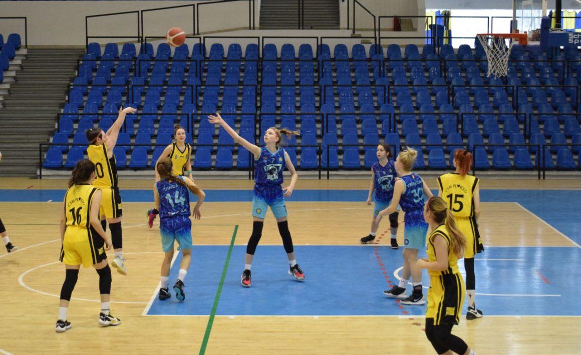 """Patru victorii în """"Olimpia"""" şi echipa de baschet fete """"U16"""" face calcule pentru Turneul Final!"""