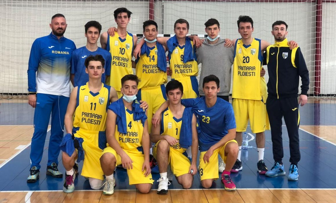"""Echipa de baschet băieţi """"U18"""", calificată pentru faza semifinală a campionatului!"""