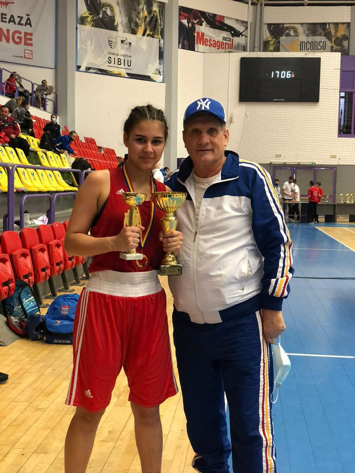 Isabel Pîrvu va reprezenta România la Campionatele Europene de Box pentru Juniori!