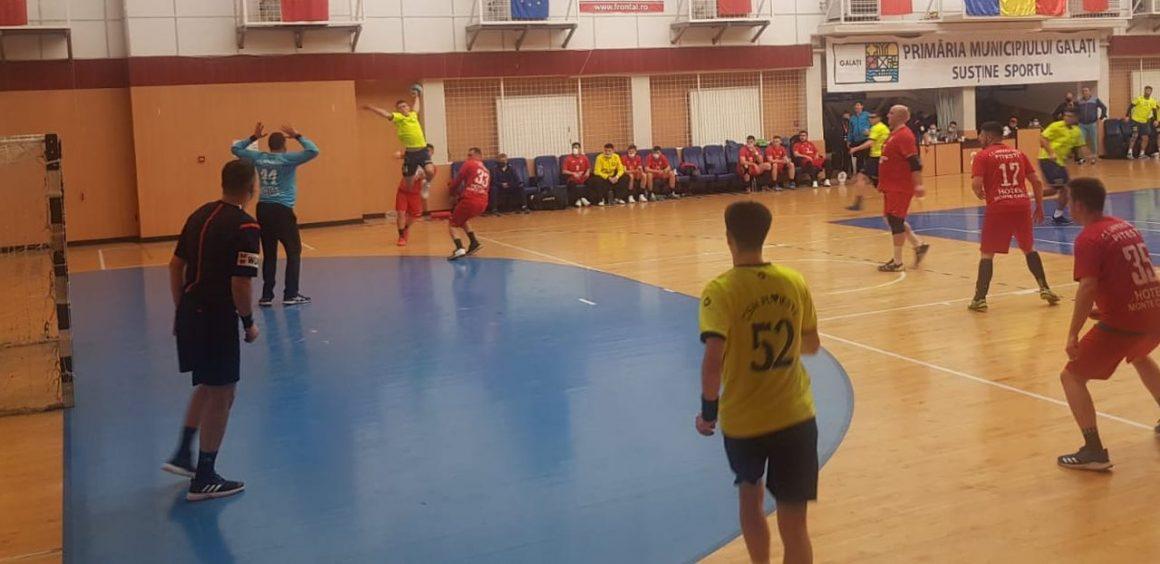 Echipa de handbal seniori a pierdut primul meci de la Galaţi: 20-28 cu CSU Piteşti