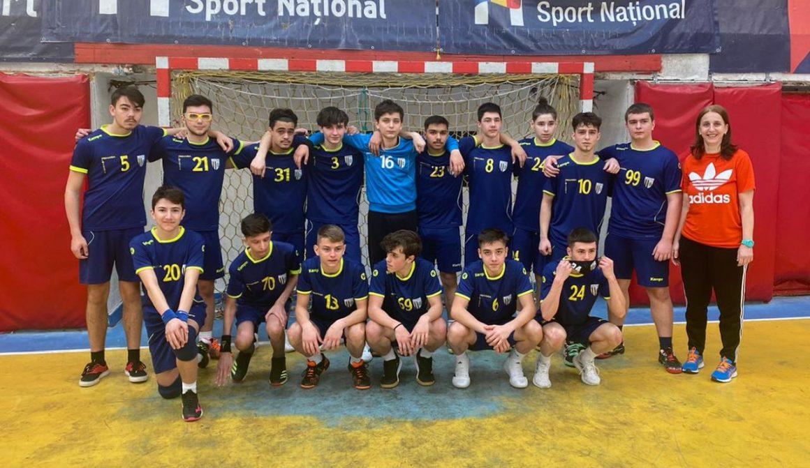 Echipa de handbal juniori 2, locul al 4-lea în Seria D a Fazei Grupelor Geografice!