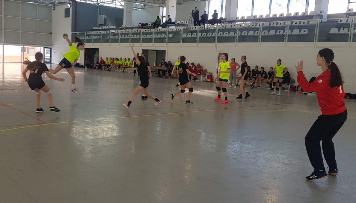 Handbal, Faza Geografică, Turneul 2: echipele de handbal juniori, 3 victorii în primele 3 meciuri!