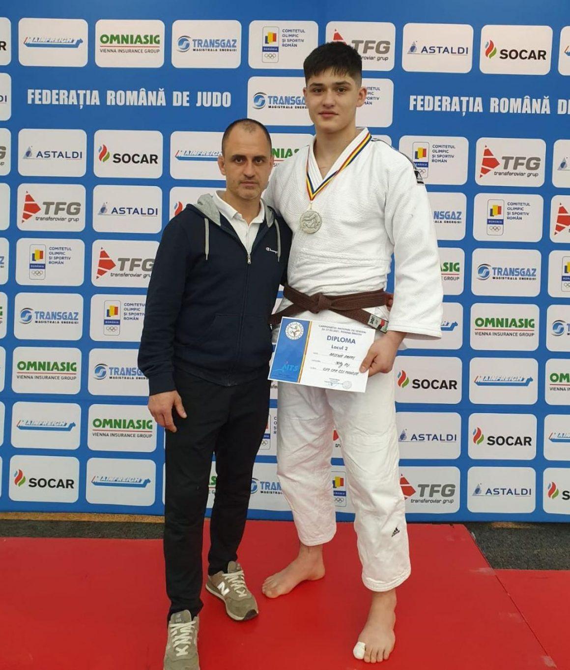"Judoka Rareş Arsenie, vicecampion national de seniori al categoriei ""90 kg""!"