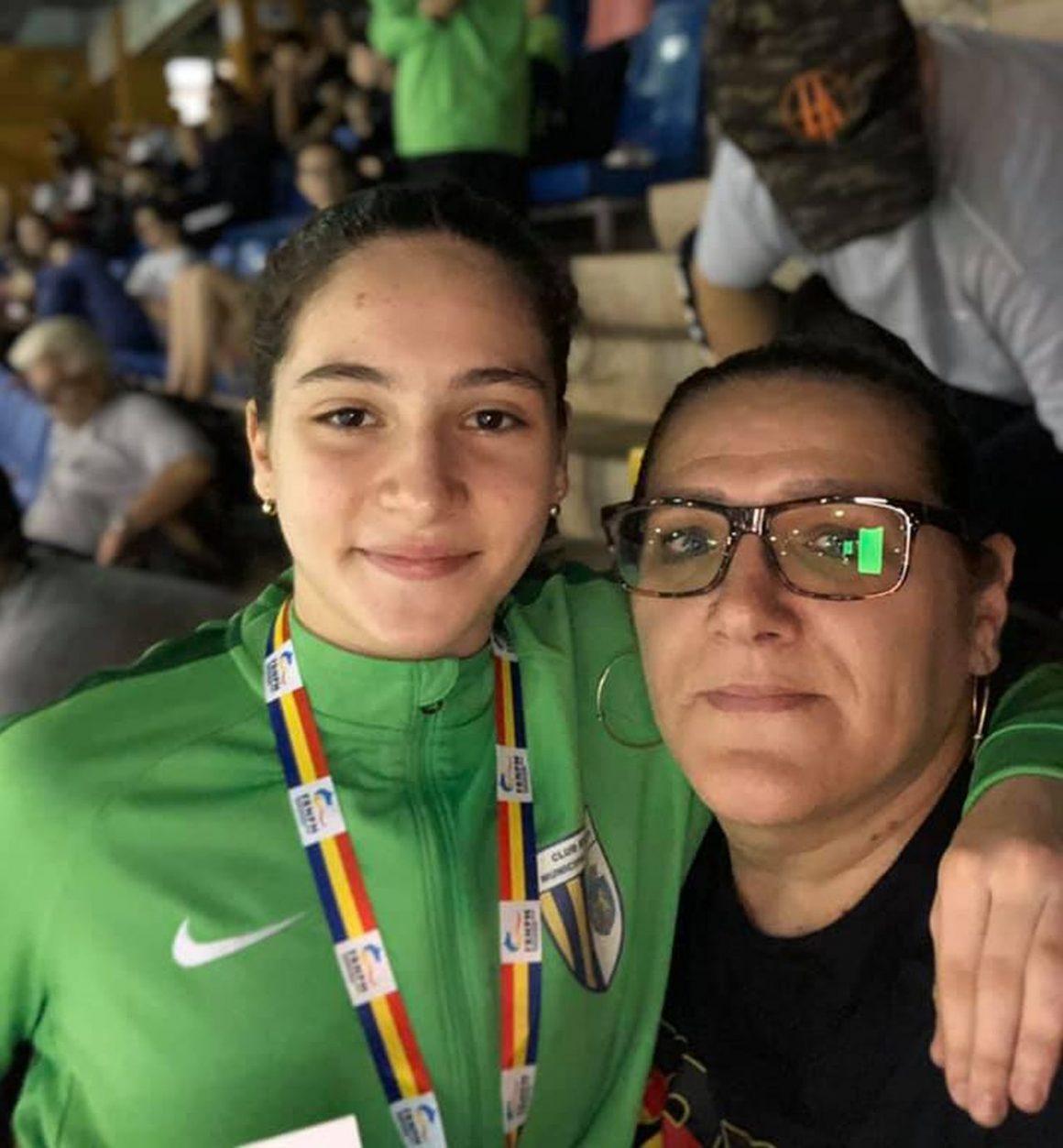 Aida Stancu, un loc 4 obţinut la Cupa României la Înot!