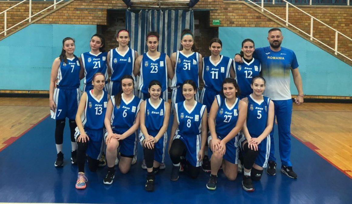 """Echipa de baschet fete """"U15"""" participă la cel de-al treilea turneu al sezonului"""