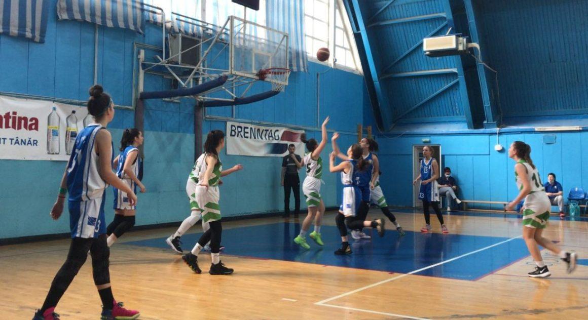 """Echipa de baschet fete """"U15"""" s-a calificat pentru Turneul final al campionatului!"""