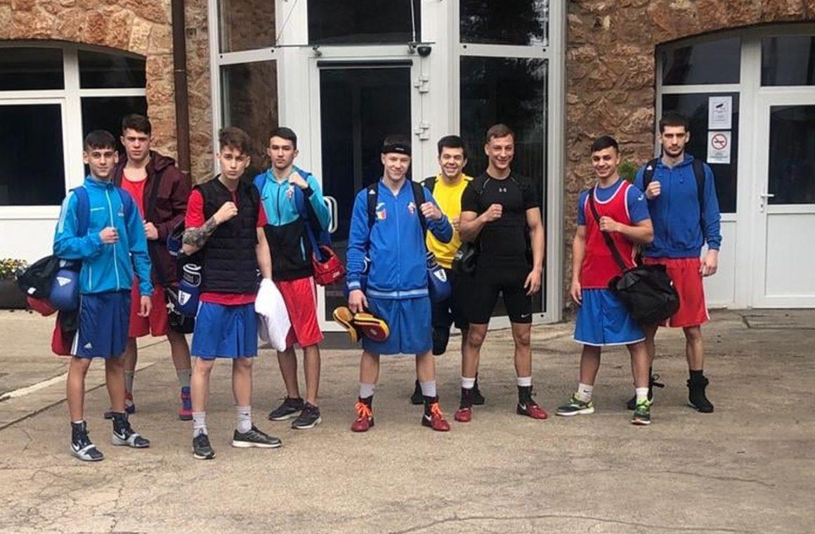 Boxerii Marian Ghinoiu şi Iulian Dumitrescu s-au pregătit în Ungaria pentru Mondialul de Tineret!