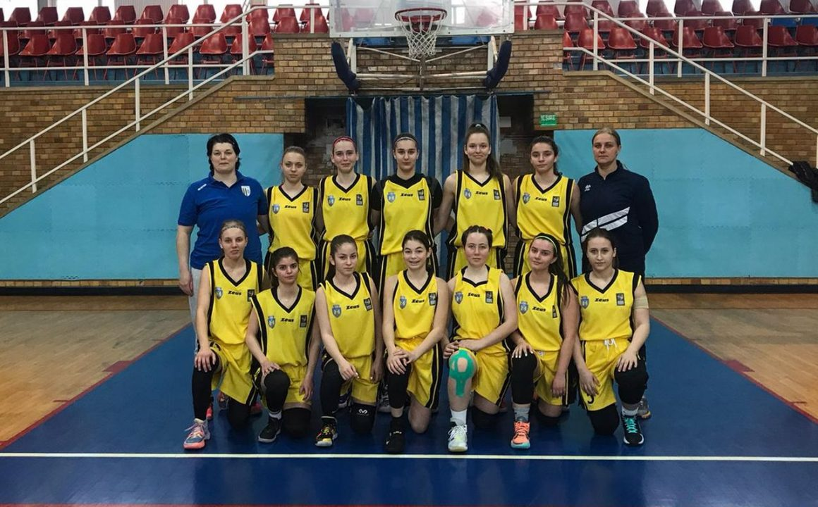 """Trei victorii în Capitală şi echipa de baschet fete """"U16"""" s-a calificat la Turneul Final!"""