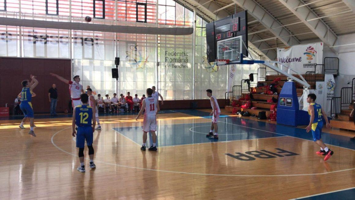 """Echipa de baschet """"U18"""" s-a oprit în faza semifinală a campionatului"""
