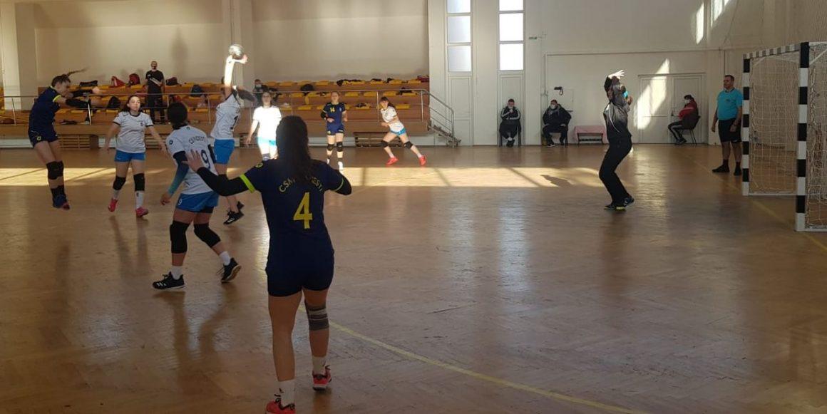 Echipa de handbal junioare 3, la a 4-a victorie consecutivă în Grupa F a Fazei Geografice!