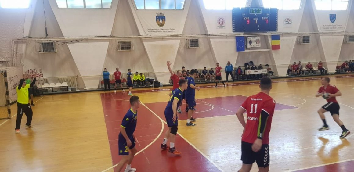 Echipa de handbal seniori va juca mâine cu Universitatea Craiova pentru  locul 7 al Diviziei A