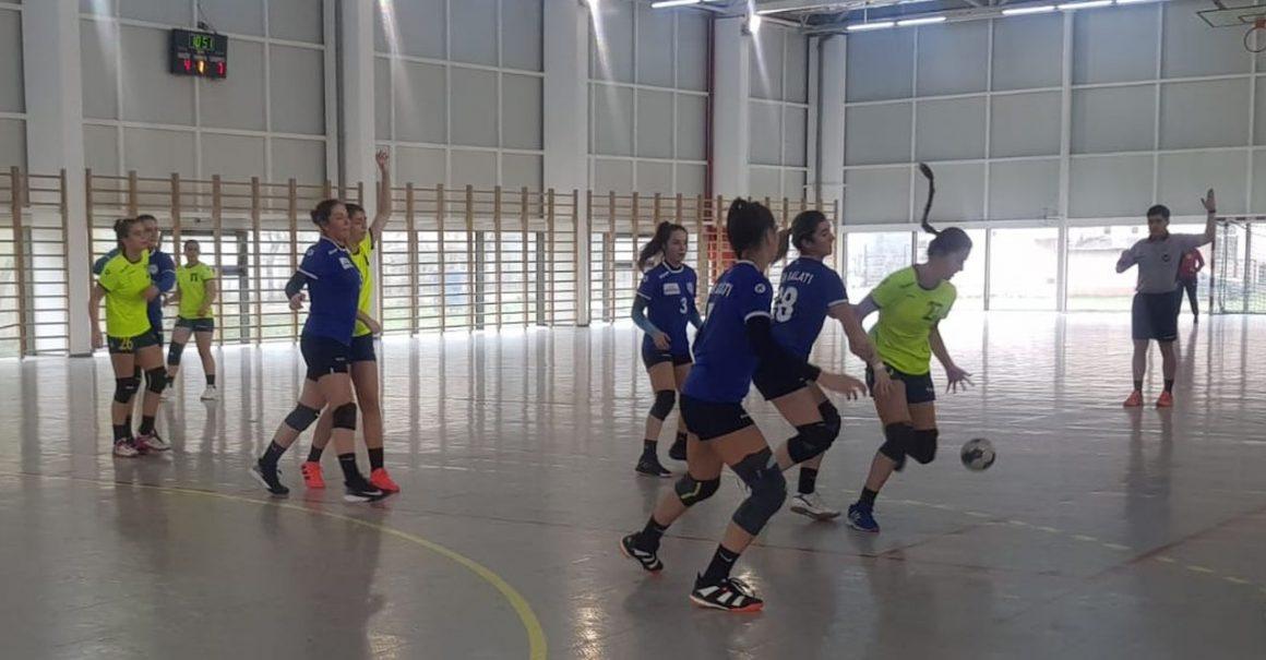 Debut victorios pentru echipa de handbal junioare 2, în Grupa Valoare 1!