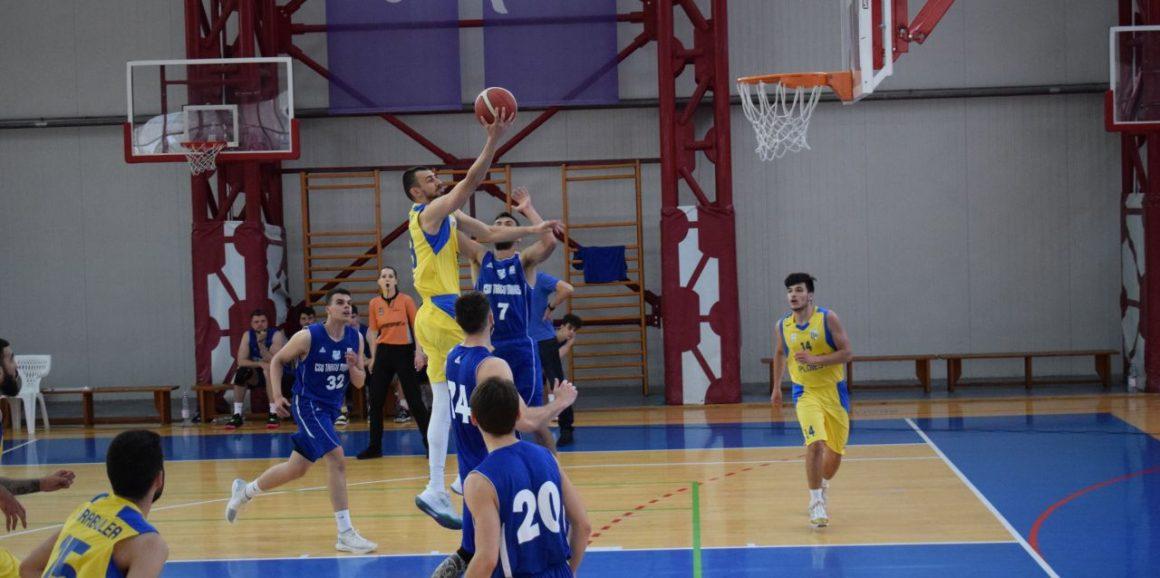 Echipa de baschet seniori, victorie clară în derbi-ul Ligii I, cu CSU Târgu Mureş: 86-76!