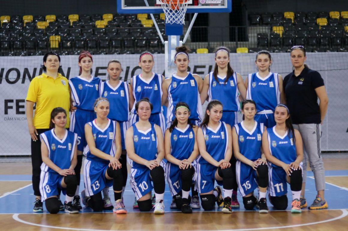 """Baschet fete """"U16"""": CSM Ploieşti a pierdut primele două meciuri de la Turneul Final"""