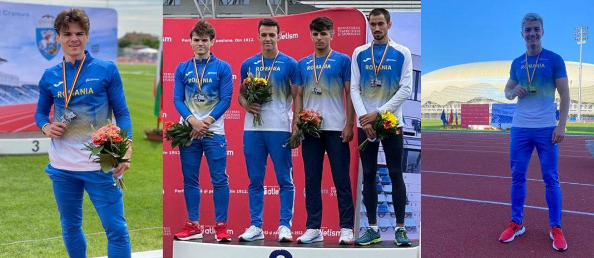 Atleţii Cristian Roiban şi Alex Geamănu, aur şi argint la Campionatul Balcanic de Ştafete pentru Seniori!