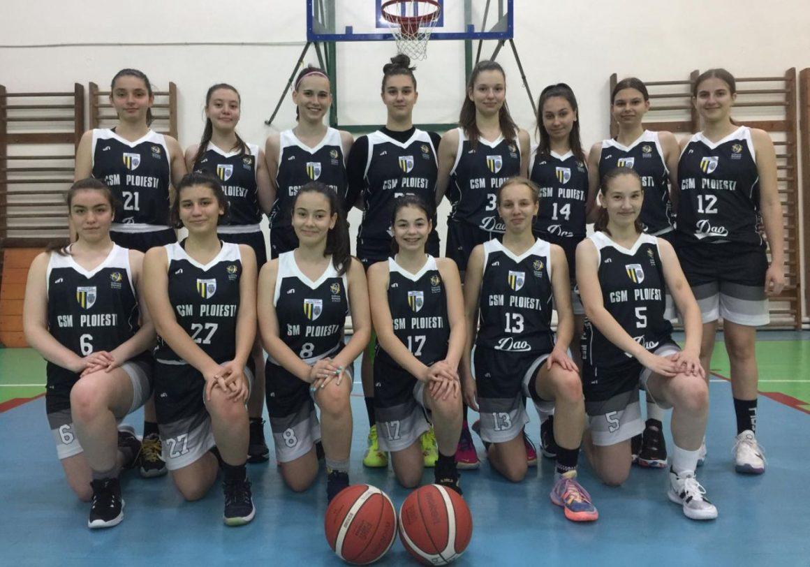 """Focus pe medalii! Echipa de baschet fete """"U15"""" debutează, mâine, la Turneul Final al campionatului!"""