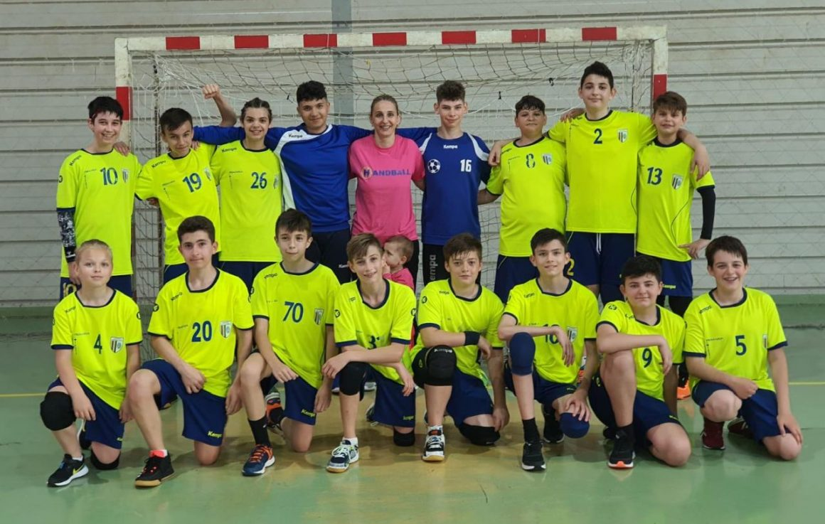 Echipa de handbal juniori IV participă, mâine, la Mizil, la Faza euro-regiune!
