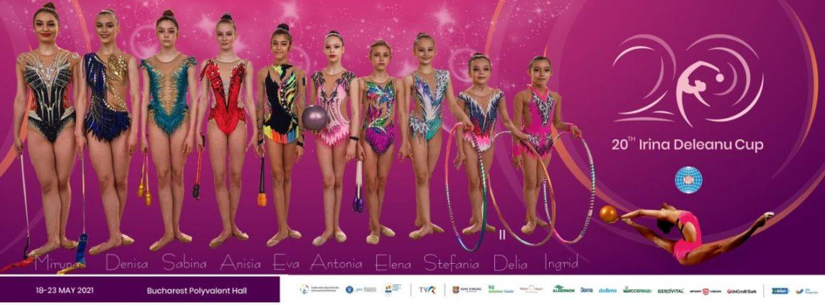 """Gimnastele de la CSM Ploieşti participă la Turneul Internaţional """"Irina Deleanu Cup""""!"""