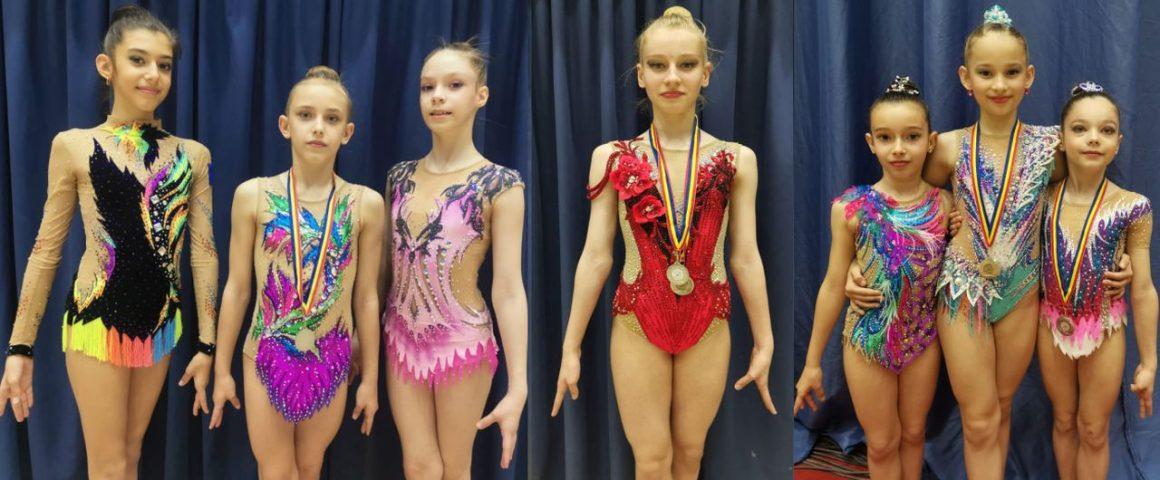 """Gimnastele de la CSM Ploieşti, 5 medalii obţinute în prima zi a turneului """"Irina Deleanu Cup""""!"""
