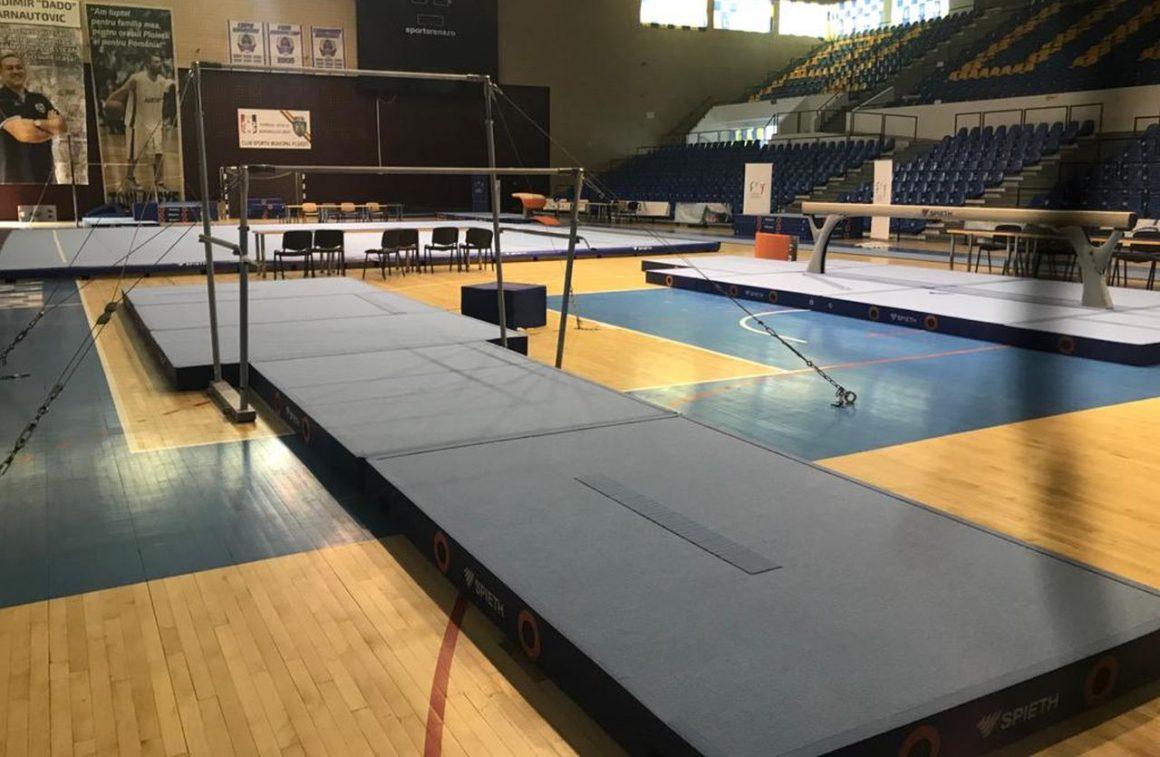 """Gimnastică artistică: Sala """"Olimpia"""" găzduieşte Campionatul Naţional pe echipe la junioare III!"""