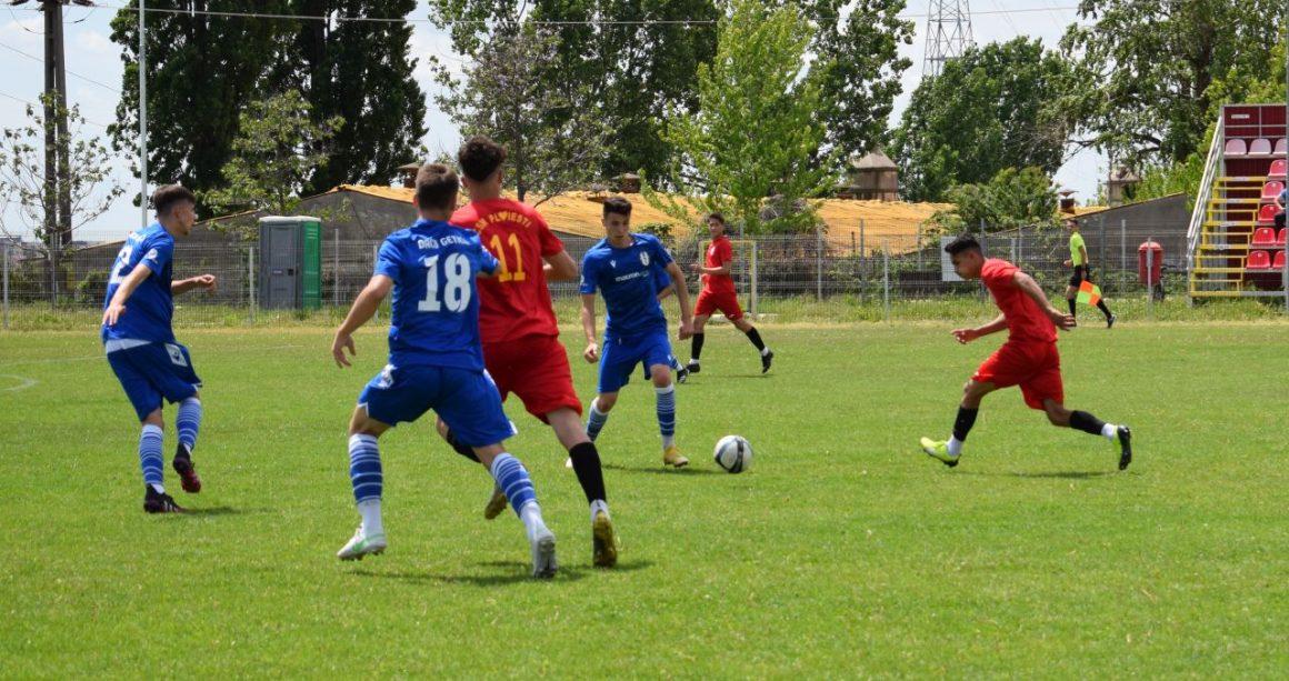 Echipele de fotbal juniori U19 şi U17, învinse de ASC Daco-Getica Bucureşti