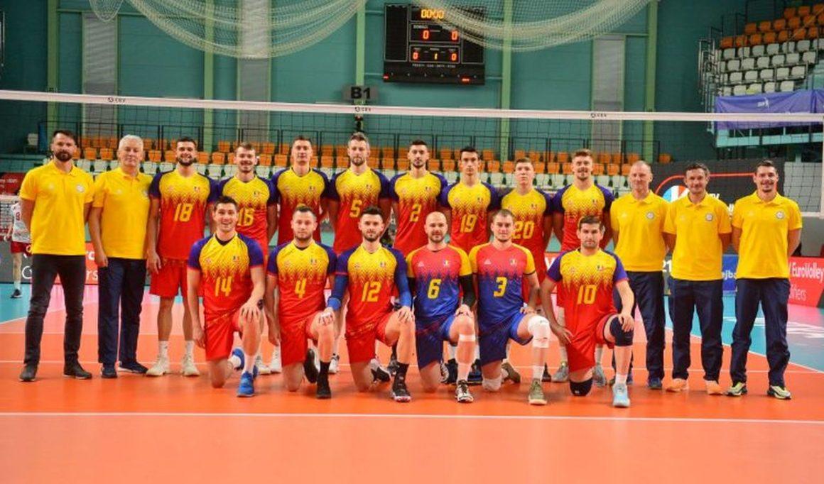 Echipa naţională de volei a României joacă în acest weekend în Sala Sporturilor Olimpia!