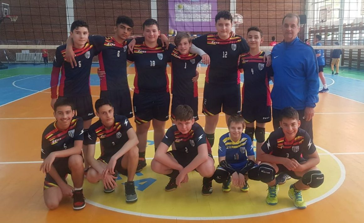Echipa de volei speranţe băieţi, la un pas de Turneul Semifinal al campionatului!