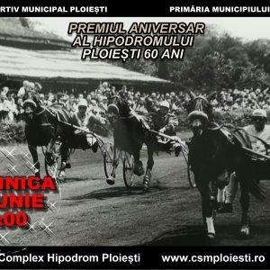 """Zi de gală pentru hipismul românesc: duminică este Premiul aniversar al Hipodromului Ploieşti """"60 ani""""!"""