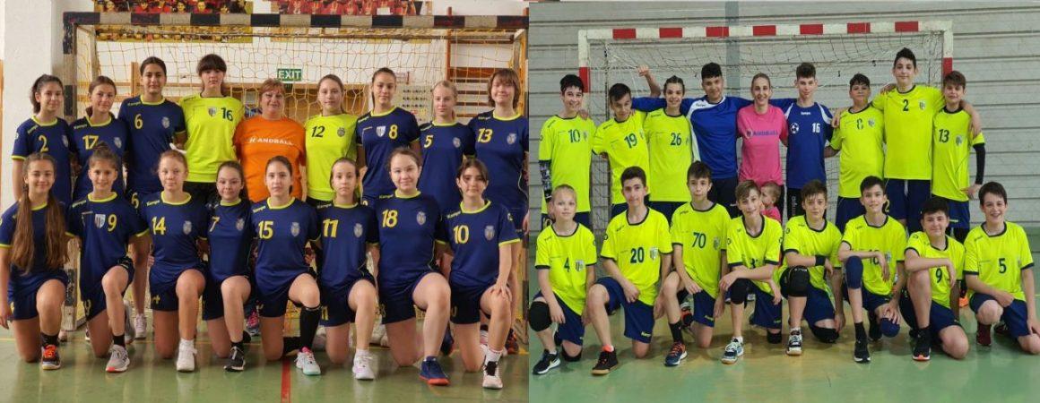 Echipele de handbal juniori IV s-au calificat între primele 8 echipe ale campionatului!