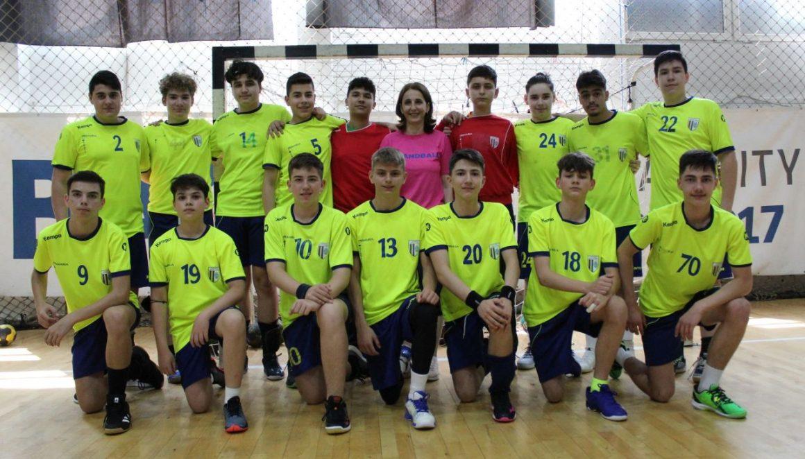 Echipa de handbal juniori 3 a ocupat locul al 7-lea la Turneul Final al campionatului!