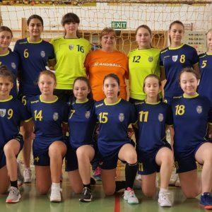 Echipa de handbal junioare IV participă, în weekend, la Faza euro-regiune a campionatului!