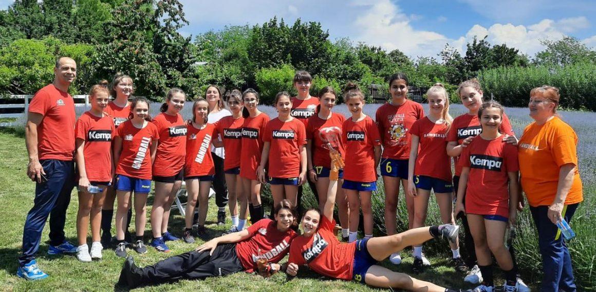 Echipa de handbal junioare IV s-a calificat pentru Faza Semifinală a campionatului!