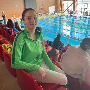 Înotătoarea Aida Stancu, prezentă în cinci finale la Campionatul Naţional de Nataţie!