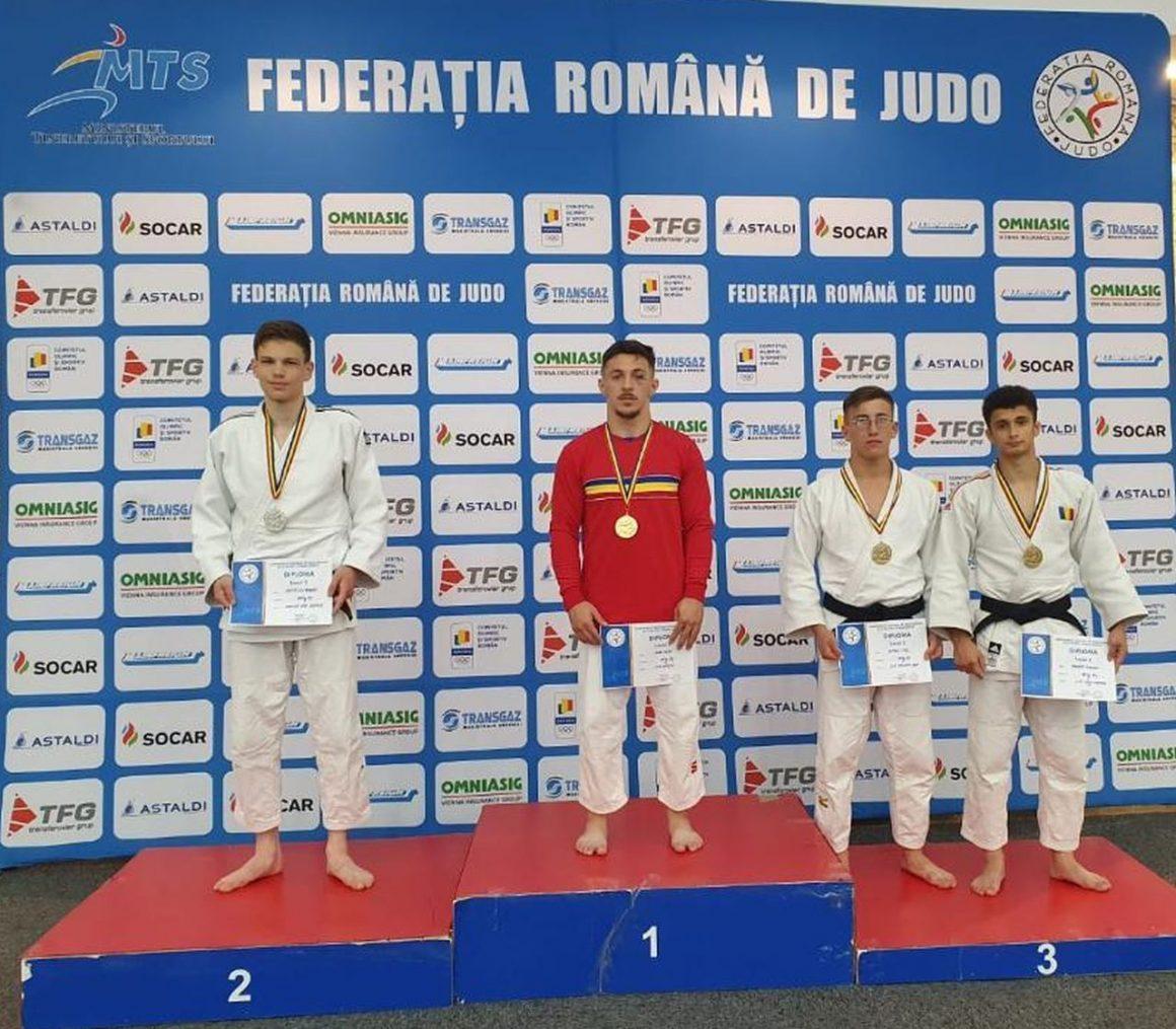 Judoka Andrei Cristescu, vicecampion naţional de seniori al probei Ne Waza!