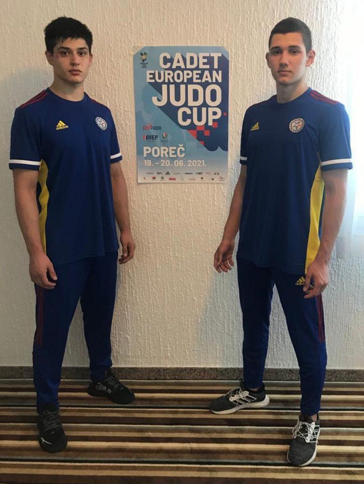 Judoka de la CSM-CFR-CSŞ Ploieşti, două locuri V la Cupa Europeană de Juniori 2!