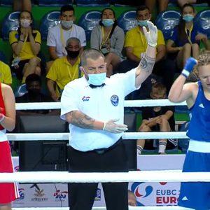 """Isabel Pîrvu, eliminată în """"sferturi"""" la Campionatele Europene de Box pentru Juniori!"""