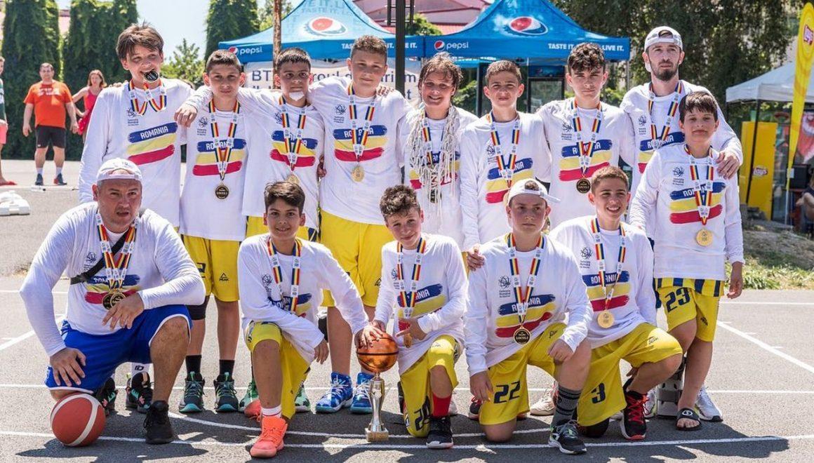 """Echipa de baschet băieţi """"U12"""" a CSM Ploieşti este campioană naţională!"""
