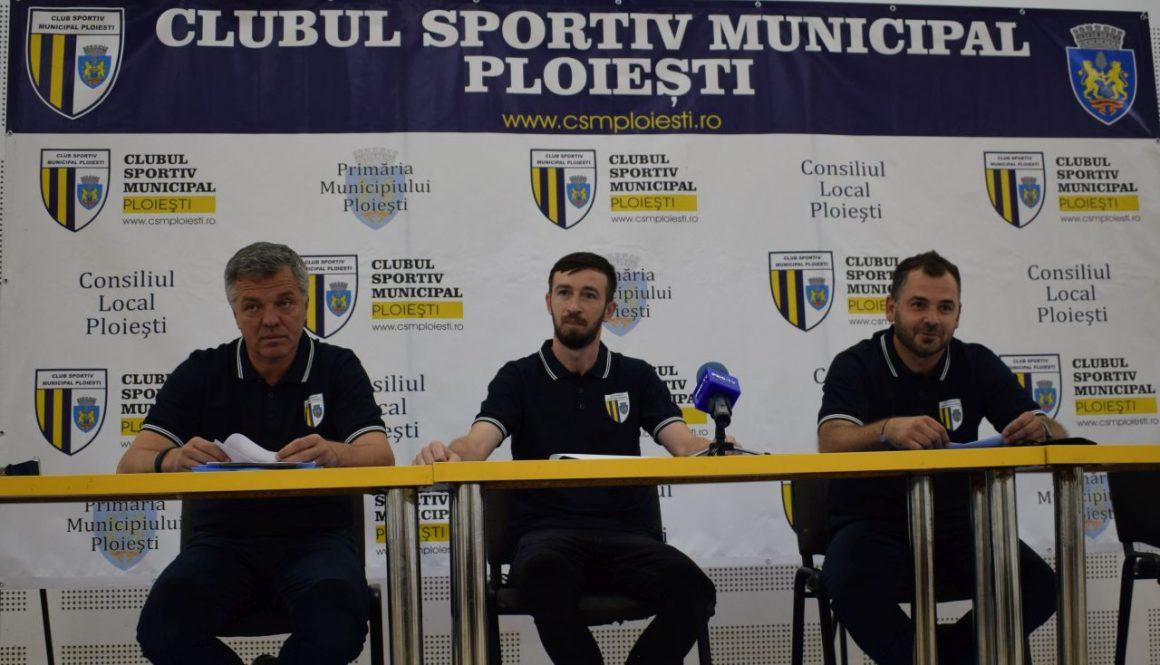 Antrenorul Mihai Popa şi cinci jucători noi, primele mutări la echipa de baschet seniori a CSM Ploieşti!