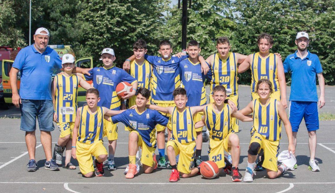 """CSM Ploieşti, trei victorii la scor în prima fază a Campionatului Naţional """"U12""""!"""